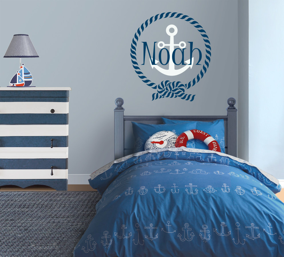 Sailing Themed Baby Room Nautical theme nursery for Grandma and
