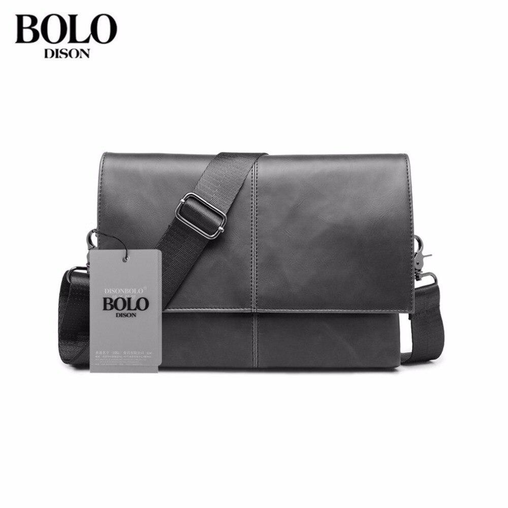 2018 NEW Original Design Male Bag PU Leather Bag Small Crossbody Korean Style Messenger Bags Men Business Portable Travel
