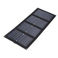 Cewaal Portable 25W 5V USB Solar Panel Folding Solar Pane Emergency Power Supply Portable Outdoor Solar Phone Charger