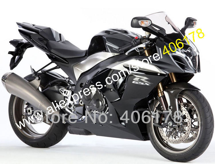 Hot Sales,Online Buy GSXR1000 For Suzuki full black 09-14 GSX-R1000 2009-2014 K9 ABS Motorbike Fairing Set (Injection molding)