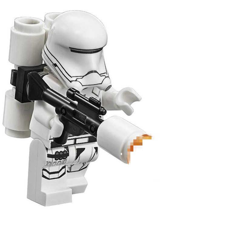 SingleSale STAR WARS Fire Storm ทหาร Clone Trooper สงคราม Yoda FORCE Awakens minifig บล็อกอาคารเด็กของเล่นของขวัญ