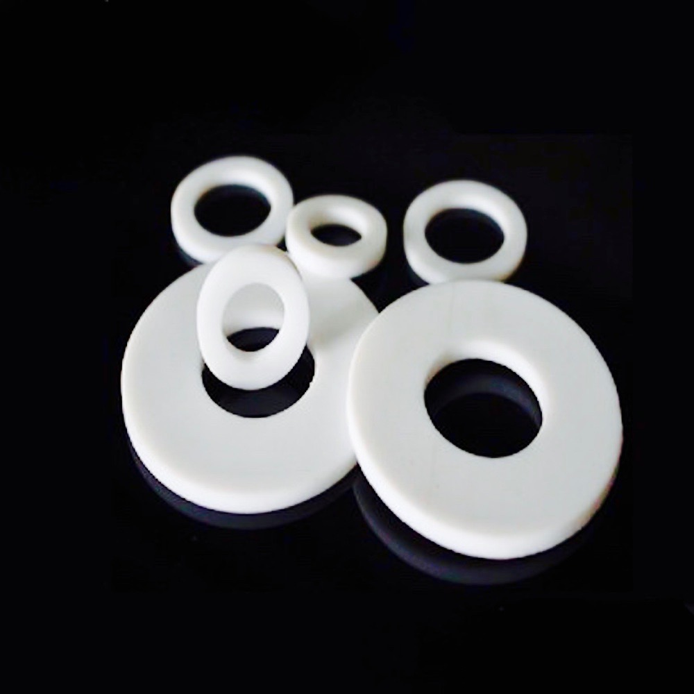Custom Made 1x DN125 Flat PTFE Teflon Washer Insulation Sealing Spacer Gasket 188mm x 133mm x 3mm OD188MM ID133MM x 3mm custom made 1x dn450 ptfe teflon flat washers insulation sealing spacer gasket 532mm x 478mm x 3mm od532mm id478mm thick 3mm f4