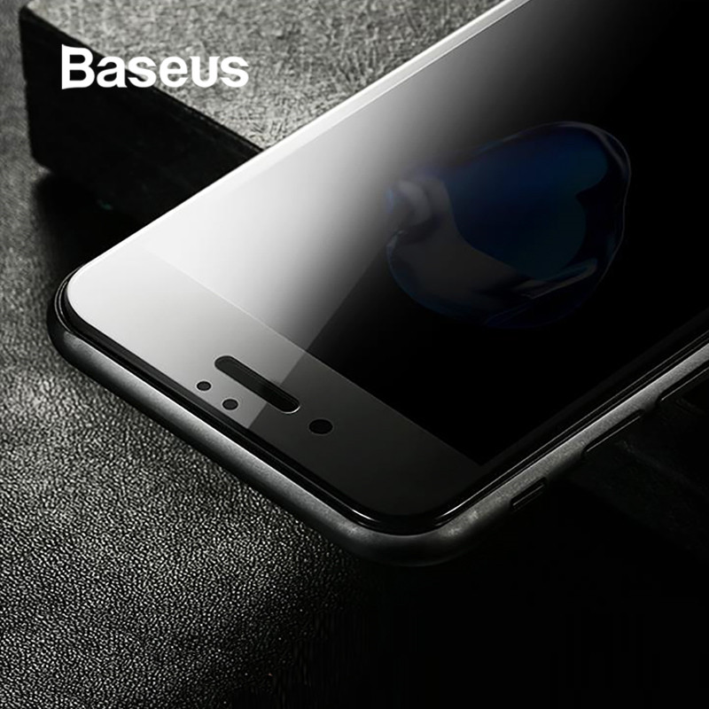 Baseus Anti Spy Privacidade Protetor de Tela de Vidro Temperado Para o iphone 7 8 7 Além de 0.23 milímetros de Vidro Fino Para iPhone 8 além de Filme De Vidro