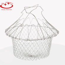 Foldable Fry Basket Steam