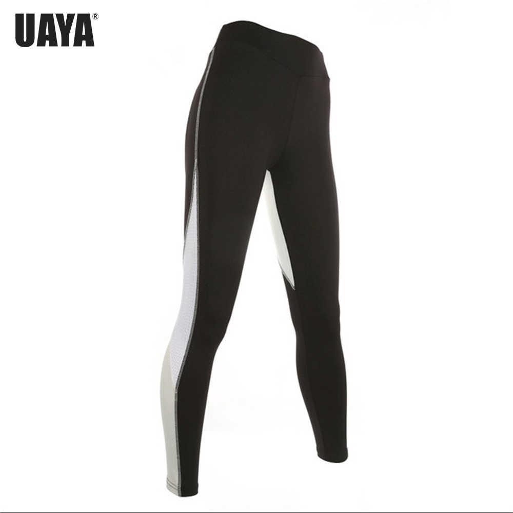 Uaya Wanita Yoga Celana Butt Jantung Bentuk Olahraga Menjalankan Olahraga Elastis Kebugaran Legging Seamless Perut Kontrol Gym Celana Ketat Pan