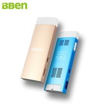 Холодный и красочные Bben Mini PC Windows двойная система Android четырехъядерных процессоров Intel Z8350 2 г Оперативная память HDMI WIFI BT4.0 Мини карманный компьютер
