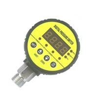 80mm S910 Digital pressure controller automatic electronic pressure gauge switch water or air manometer default M20*1.5