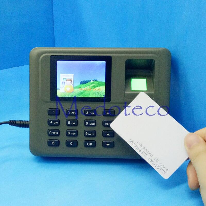 ФОТО tcp/ip Biometric Fingerprint Time Attendace fingerprint and rfid card Time Attendance System