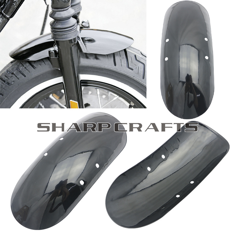 Motorcycle Short Front Fender Fits For Harley Forty Eight 48 XL1200X XL 1200 2010 2011 2012 2013 2014 2015 2016 2017
