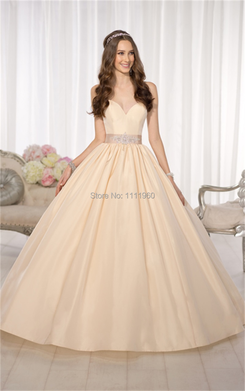 Free Shipping Princess Wedding Dresses Ball Gown 2014 Sweetheart ...
