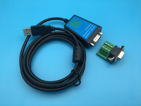 USB 2 0 To RS422 RS485 Serial Converter Adapter Cable 180cm W FTDI Chipset For Win10