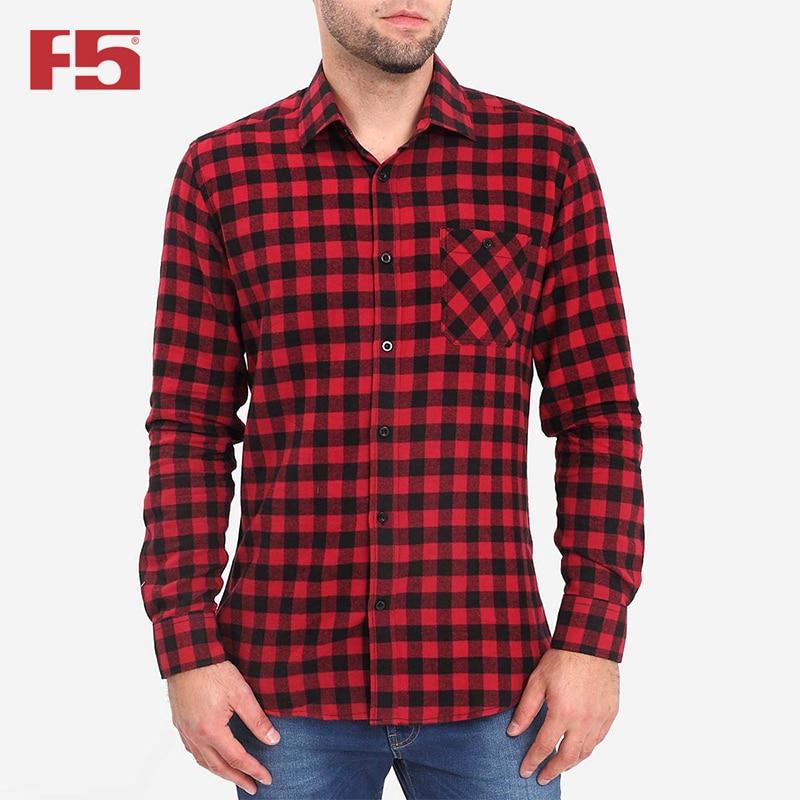 Men Shirt F5 284000 men plaid detail shirt