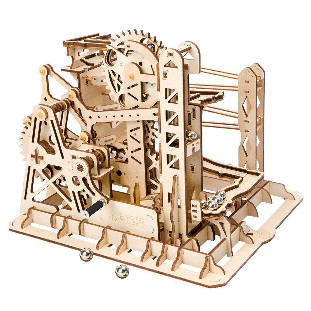 Enfants adultes 3D en bois montagnes russes Puzzles Kit d'apprentissage jouets pour enfants adolescent bricolage modèle Juguete artisanat puzzle jeu éducatif