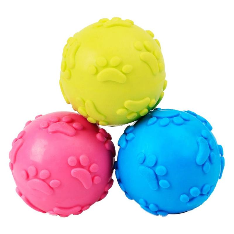 Misterolina Pet Dog Toy Chew Squeaky Rubber Toys For Cat Puppy Dogs Rubber  Ball Interactive Game Toys Honden Speelgoed