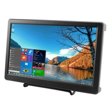 10.1 Inch 1920X1080P Resolution Hdmi Vga Display Monitor Ips Ps3 Ps4 Gaming Screen With Build-In Speakers For Raspberry Pi B+/
