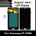 100% tested lcd display with touch digitizer screen For Samsung Galaxy J7 J700 J700F J700H J700M  free shipping+tracking No.