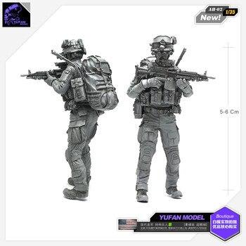1/35現代米特殊部隊b樹脂兵士モデルAH-02