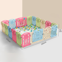 Foldable Baby Playpen Fence indoor home baby baby toddler safety fence fence crawling mat playground