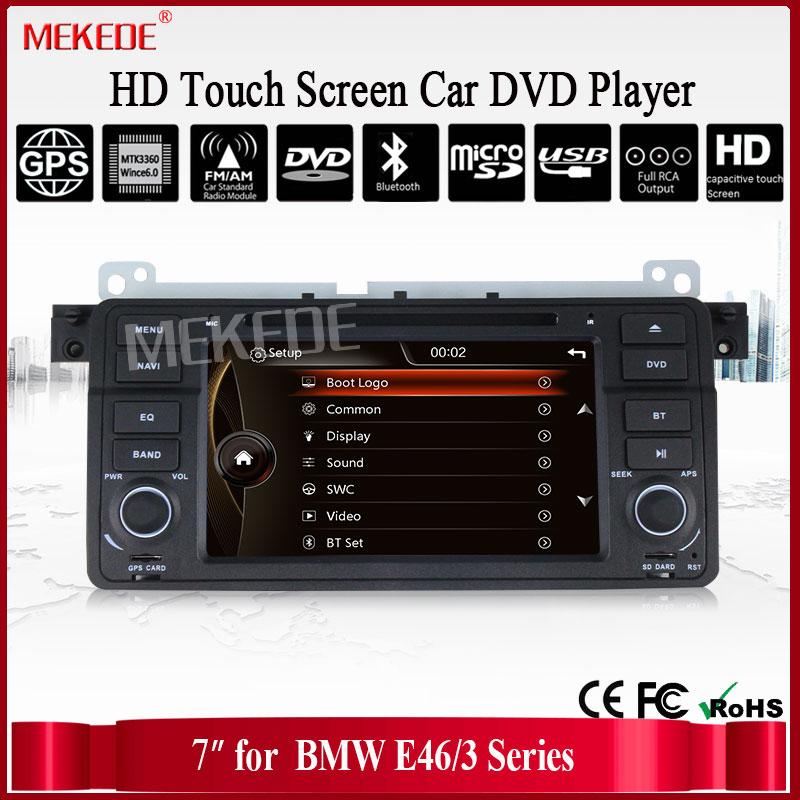 imágenes para NUEVA 3G ANFITRIÓN de DVD Del Coche para BMW E46 M3 coche de radio para BMW E46 M3 con 3G GPS Bluetooth de Radio DEL USB SD TV + Free 8G MAPA