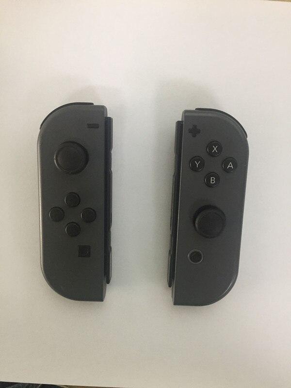 Oryginalny czarny RL prawy lewy radość pad kontroler zdalnego dla ns przełącznik joy con