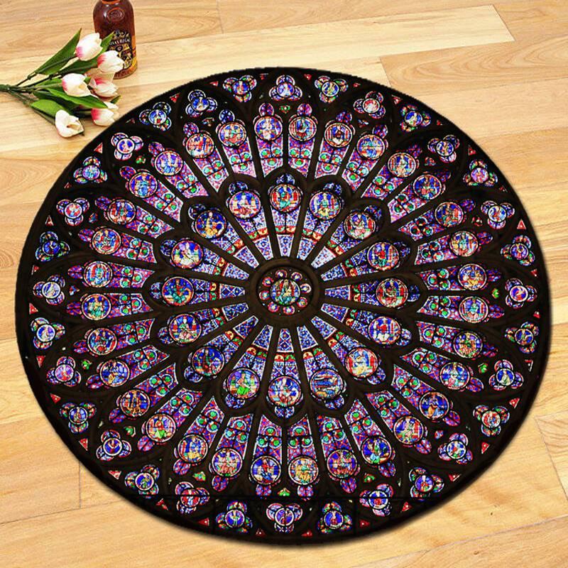 Indian Mandala Carpet Round Square Floor Mat Hippie Home Decorative Bohemia Rug Beach Mat Yoga Mat High Quality Сумка