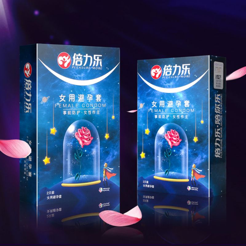 2pcs Female Condom Feel Better Than Wearing Nothing Natural Latex Condoms For Woman Safe Adult Product Special Sex Toys