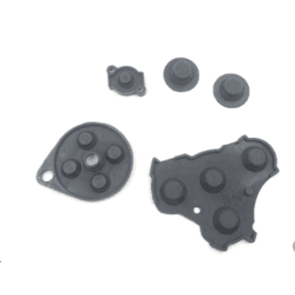 1set Conductive Adhesive Buttons Rubber Contact Silicon Pad Button D-Pad For NGC Game Controlller Gamepad