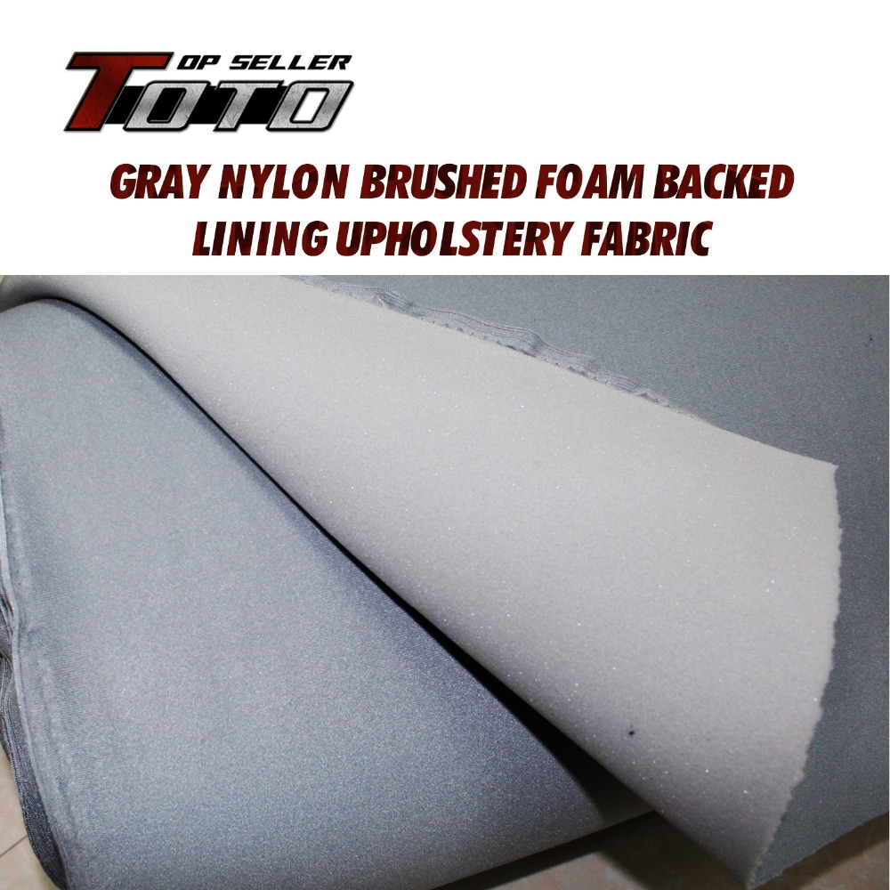 Roof Lining Foam Backing Car Truck Insulation Auto Pro UPHOLSTERY Gray Headliner Fabric Ceiling 12