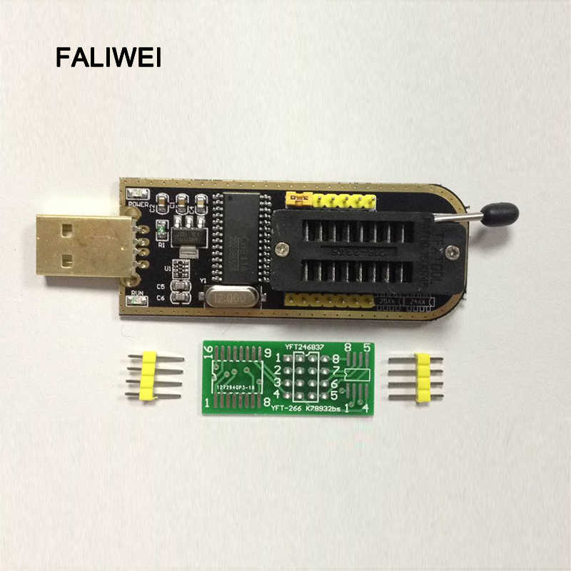 Free shipping good quality CH341A Series 24 EEPROM Writer 25 SPI routing  BIOS LCD Flash USB Programmer