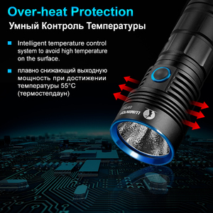 Image 3 - LUMINTOP נטענת גבוהה עוצמת פנס ODF30C הארה עיצוב מקס 3500 Lumens IP68 עמיד למים לטיולים, נסיעה