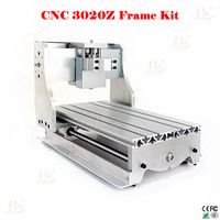 Free Shipping Free Tax From UK To EU CNC 3020 DIY CNC Frame With Ball Screw
