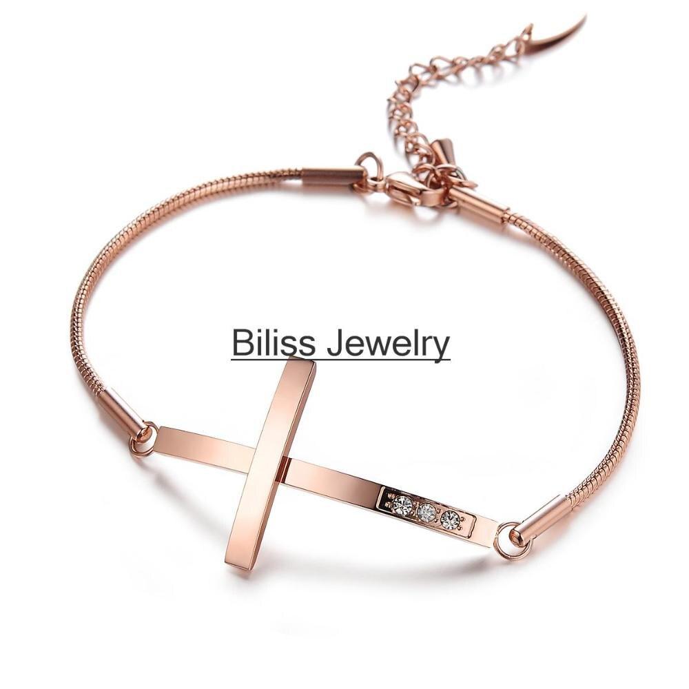Link Charm Bracelet Stainless Steel