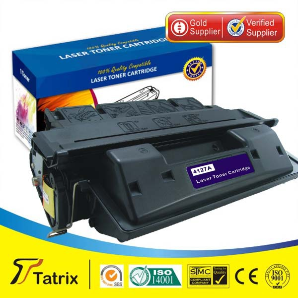 ФОТО Toner cartridge C4127A compatible for HP Laserjet 4000/4050 printer  ,free shipping