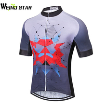 WEIMOSTAR Cycling Jersey Men Bicycle Short Sleeve Bike Jersey Mtb Cycling Clothing Bicycle Clothes Road Bike Jersey T-Shirt
