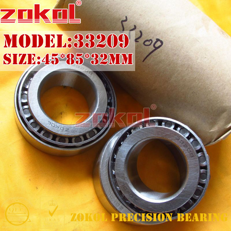 ZOKOL bearing 33209 3007209E Tapered Roller Bearing 45*85*32mm na4910 heavy duty needle roller bearing entity needle bearing with inner ring 4524910 size 50 72 22