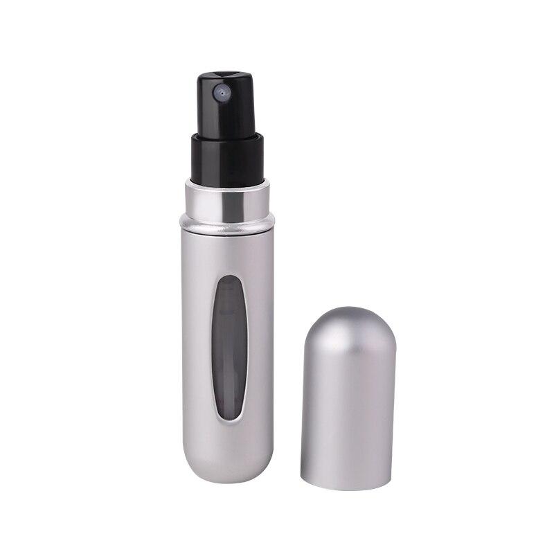 5 мл многоразовый мини флакон-спрей для духов Алюминиевый распылитель портативный дорожный косметический контейнер флакон для духов