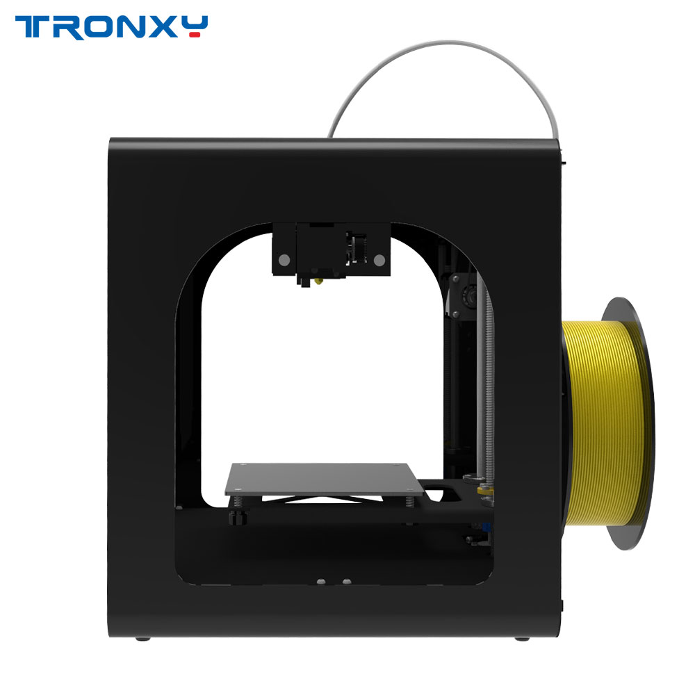 Tronxy C2 Desktop High Precision 3D Printer DIY Kits with Touch Screen Gift with 250g PLA Assembled Metal FDM Machine 3d drucker in 3D Printers from Computer Office