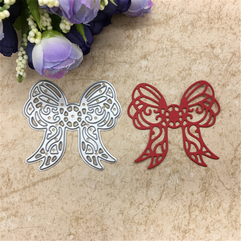 Bow Tie Bowknot Metal Cutting Dies Stencil Scrapbooking Photo Album Card Paper Embossing Craft DIY Dies Cut