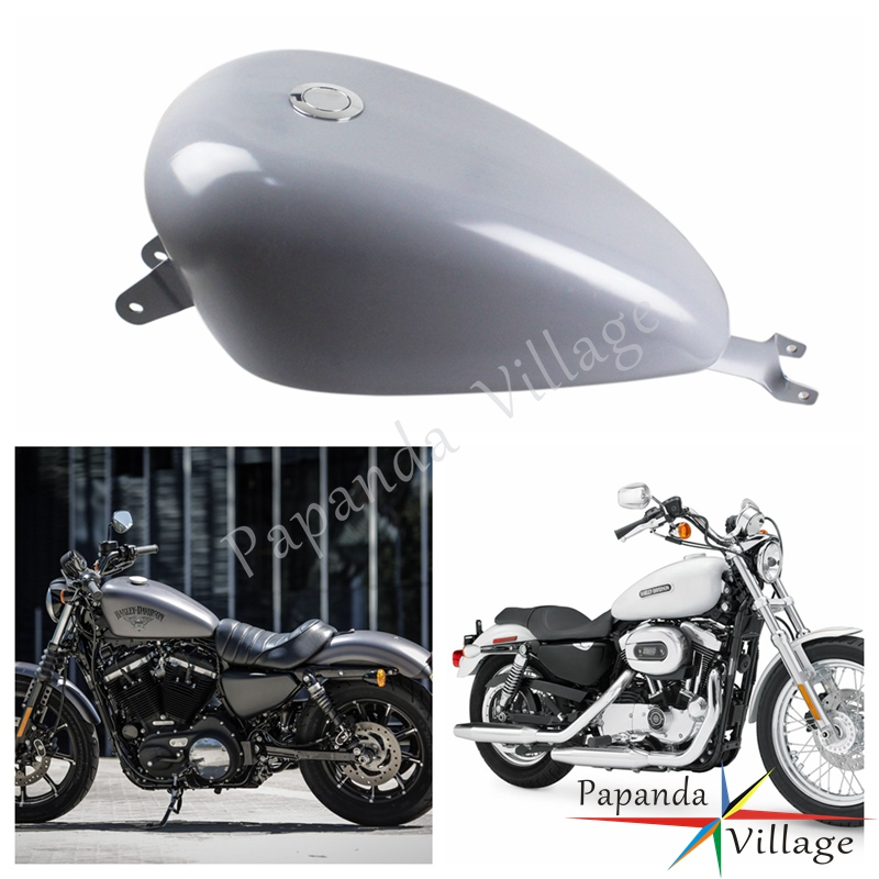 Decals & Stickers Fast Deliver Tank Stickers Rubber Peel Fuel Tank Pads Knee Protector For Harley Dyna Softail Street 500 750 Xg500 Xg750 Sportster Xl 883 1200 Automobiles & Motorcycles