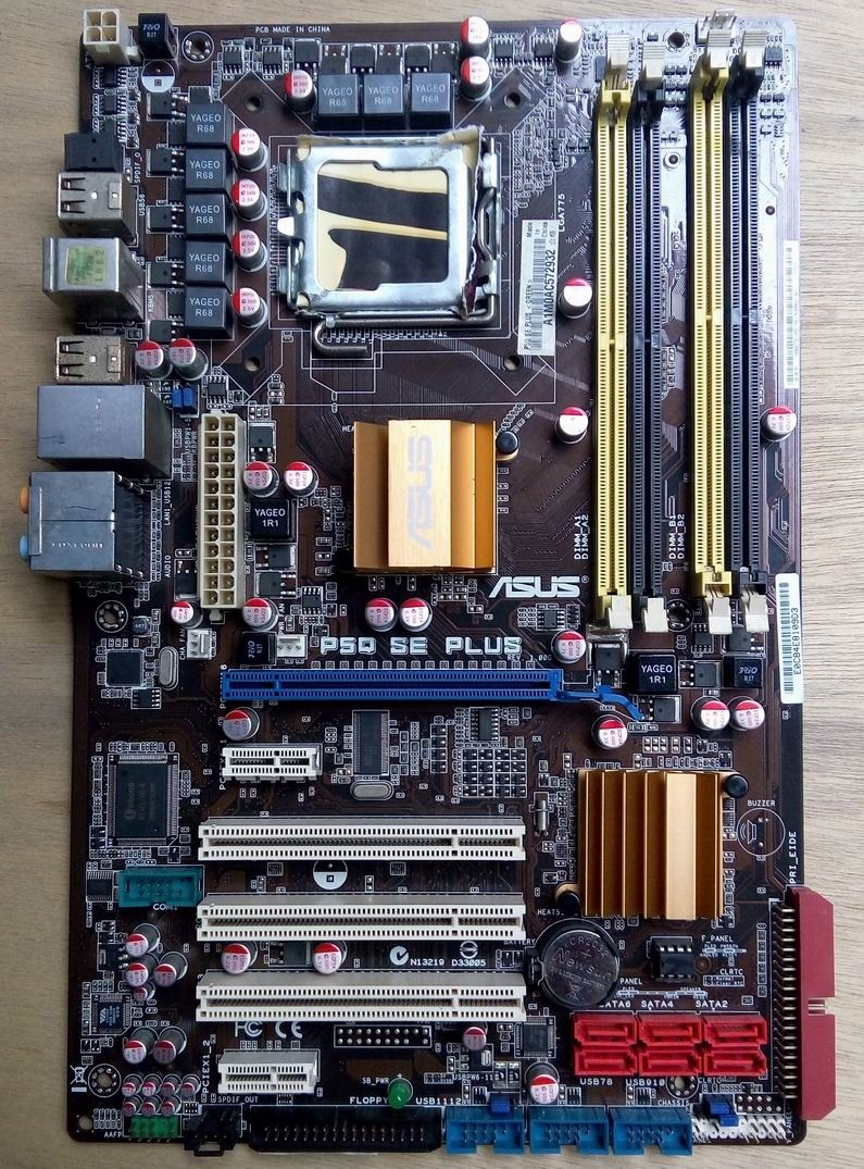 100% original motherboard ASUS P5Q SE PLUS LGA 775 DDR2 16GB Mainboard ATX All solid desktop motherboard msi original zh77a g43 motherboard ddr3 lga 1155 for i3 i5 i7 cpu 32gb usb3 0 sata3 h77 motherboard