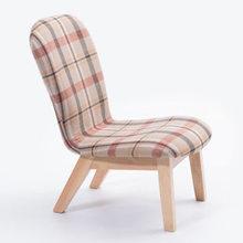 Гостиная стул, гостиная мебель для дома кресло Giovanni для Скандинавская мебель минималистский ткань+ твердый деревянный диван кресло мода