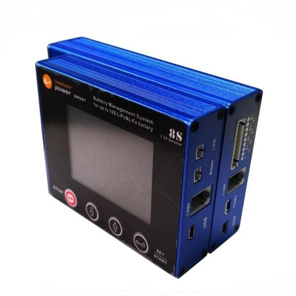 Chargery BMS8T BMS 300A ためシャント 2 S 4 S 6 S 7 S 8 3s リチウムイオンリポ LiFePo4 LTO 1.2A とバランス SOC ディスプレイウィンストン CALB バッテリーパック  グループ上の 家電製品 からの バッテリーパック の中 1