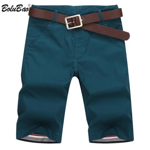 BOLUBAO Brand Men Shorts New Summer Mens Fashion Solid Color Casual Shorts Male Bermuda Shorts( No Belt) Lahore