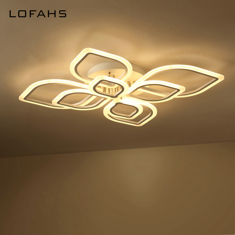 LOFAHS modern led chandeliers for living room bedroom dining room acrylic Indoor home ceiling chandelier lamp lighting fixtures modern crystal chandelier led hanging lighting european style glass chandeliers light for living dining room restaurant decor