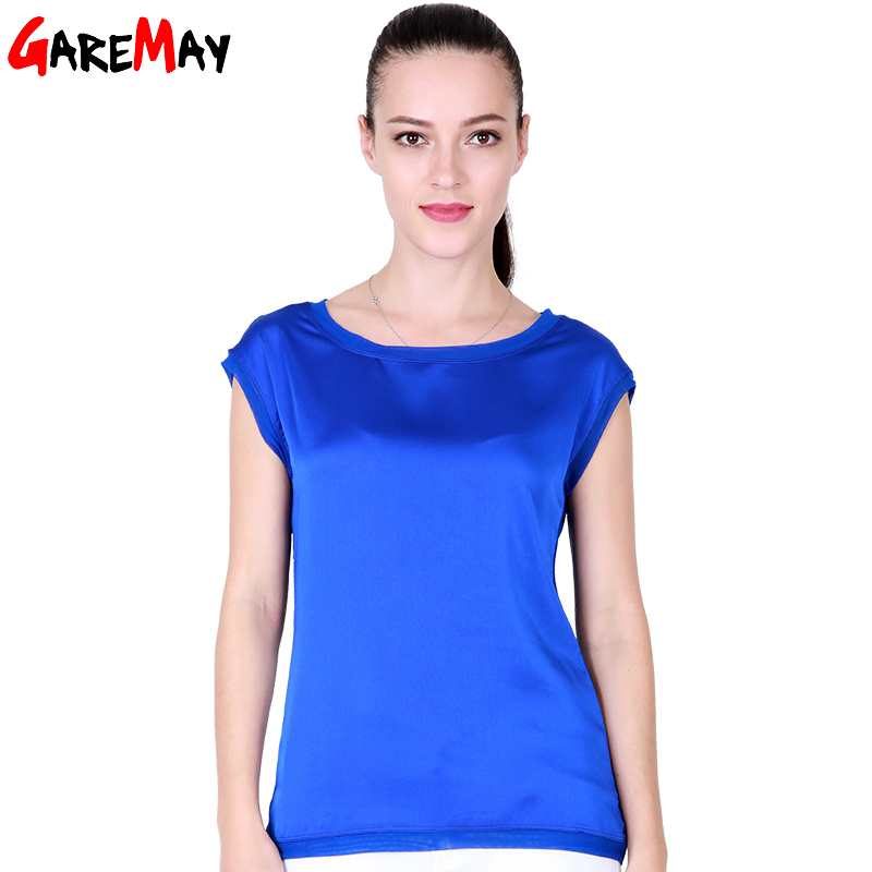 Summer women t shirt Chinese silk 2017 ts