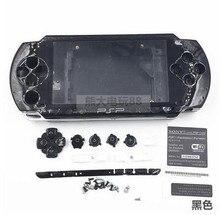 Carcasa completa para PSP case 1000, con Kits de botones, carcasa para PSP1000 PSP 1000
