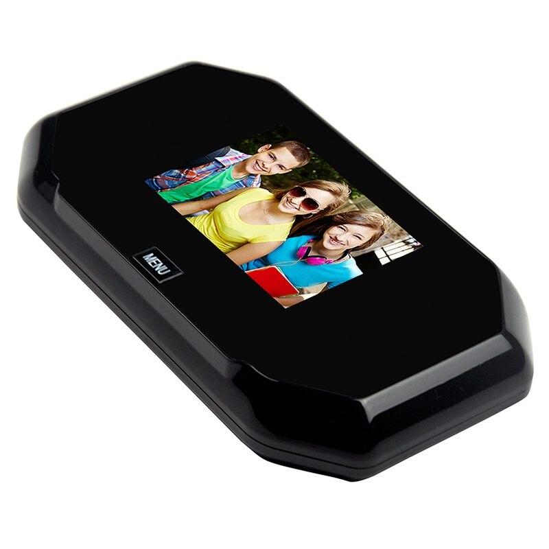 MOOL 3,0-дюймовый цифровой дверной звонок камеры безопасности, 200-megapixel камеры, 145 градусов широкий угол дверной звонок камеры безопасности