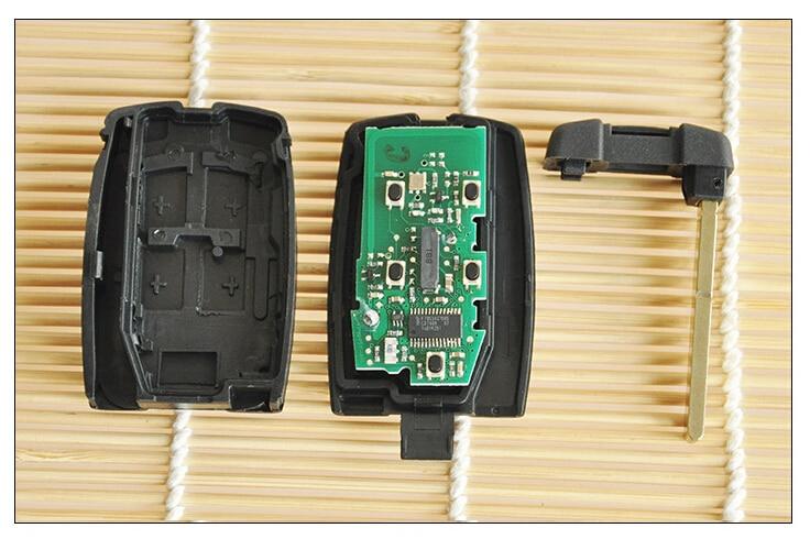 Запасной ключ 4+1 кнопки Смарт-Дистанционный ключ для Ленд Ровер Фрилендер 2 с 315 МГц