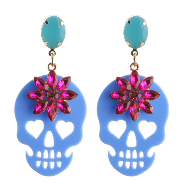 Beautiful Halloween Drop Earrings 10 Colors 3