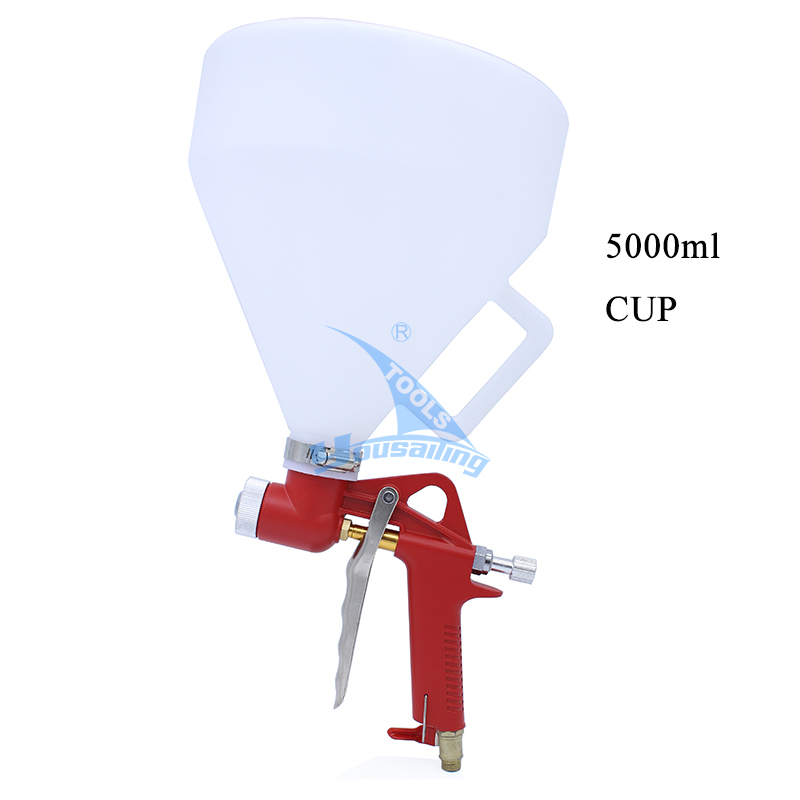 YOUSAILING Pneumatic Hopper Spray Gun Air Paint Gun Spraying Equipment 5L 2 5l pneumatic hopper gun air spray gun wall paint spray gun painting gun tools page 9